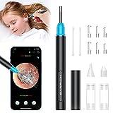 Lifelf Otoskop Ohrenschmalz Entferner 3.9mm Durchmesser Ultradünne 5 Millionen Pixel HD Wifi Wasserdicht Ohrenspiegel mit 6 LED-Leuchten Mini-Otoskop für Kinder/Erwachsene/Hund
